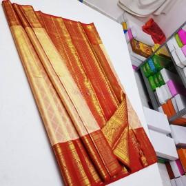 Pure bridal tissue kanchipuram silk sarees