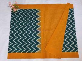 Double ikat cotton sarees