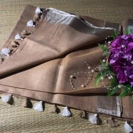 Light brown linen