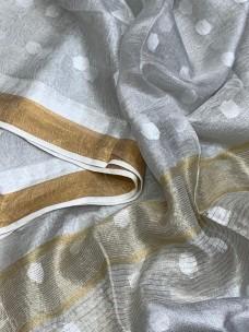 Shell  white tissue linen