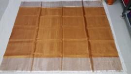 Uppada gold tissue sarees with silver border