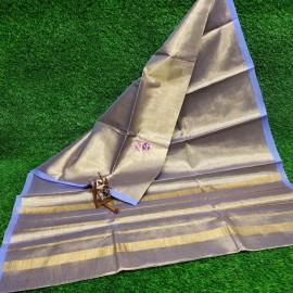 Lavender uppada tissue cotton sarees