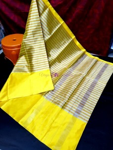 Yellow uppada tissue by cotton sarees