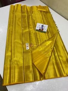 Gold pure kanchipuram silk sarees