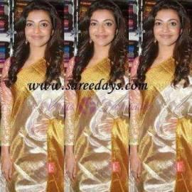 Uppada tissue sarees with gold border