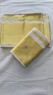 Pure handloom Kerala setmundu 6 inch