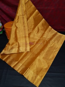 Uppada full gold tissue cotton sarees
