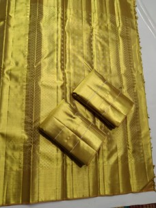Full gold pure kanchipuram wedding silk sarees