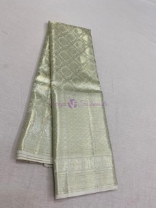 Silver pure kanchipuram bridal silk sarees