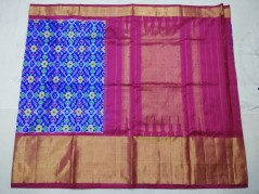 Pochampally Ikkat Sarees with Big Border