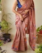 Pure Tussar Gicha sarees