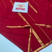Pure Georgette Mysore silk sarees
