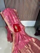 Pure Muga silk sarees