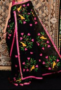 Bangladeshi Tant Applique Work sarees