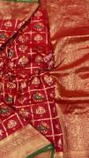 Pure banarasi Patola silk sarees