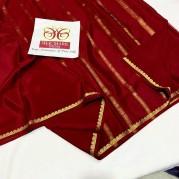 KSIC grade Pure Mysore silk sarees
